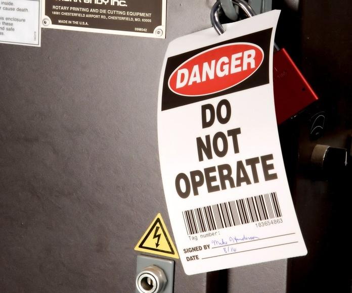 Etiquetas de Seguridad Industrial