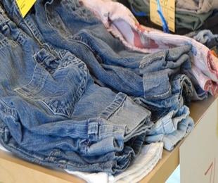 Recogida de ropa y zapatos