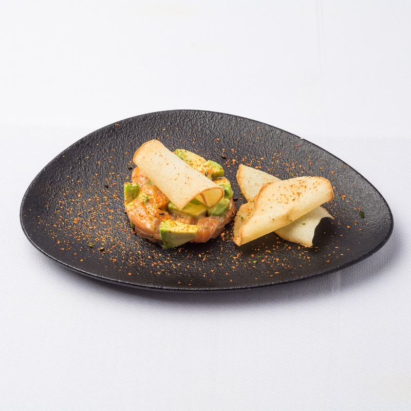 Tarta salmón: Carta de Restaurante Sowu
