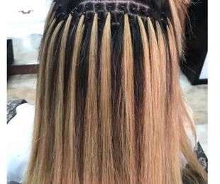 Curso de extensiones de nudo de cabello natural en Tenerife