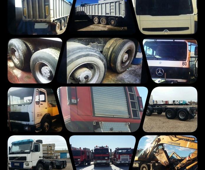 Desguace de vehículos, camiones o autobuses: Servicios de Desguaces Tres Torres