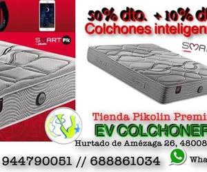 EV Colchoneria: 50% y 10% dto adicional en colchones Smartpik de Pikolin