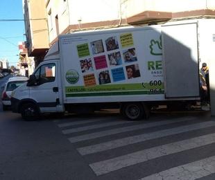 Mañana se descargara nuevo material para las tiendas en Castellón