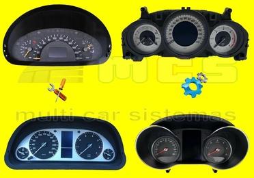 Reparación avería fallo cuadro instrumentos relojes coches vehículos