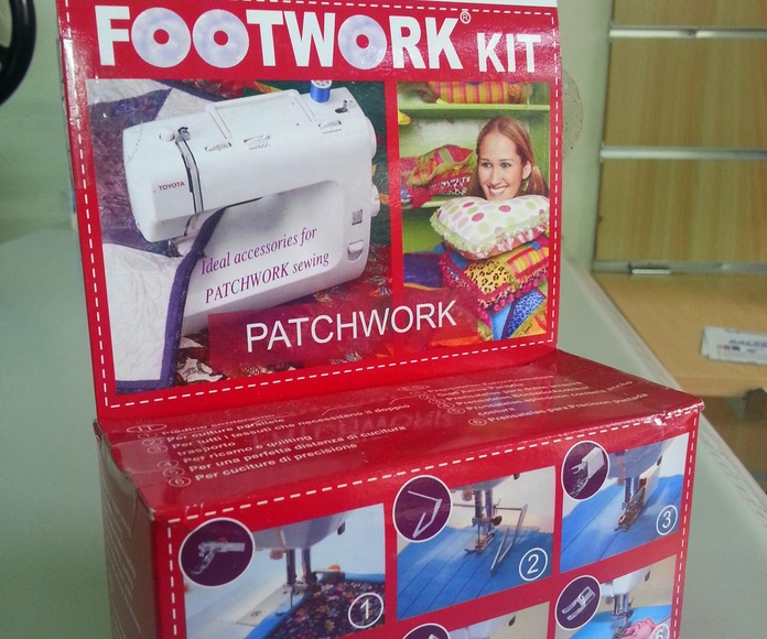KIT TOYOTA FOOTWORK PATCHWORK: Catálogo de Co.Ma.Tex.