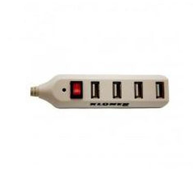 Hub USB 4 Puertos con Interruptor: Catálogo de Retóner Ecológico, S.C.