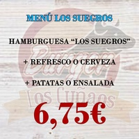 Menú Los Suegros