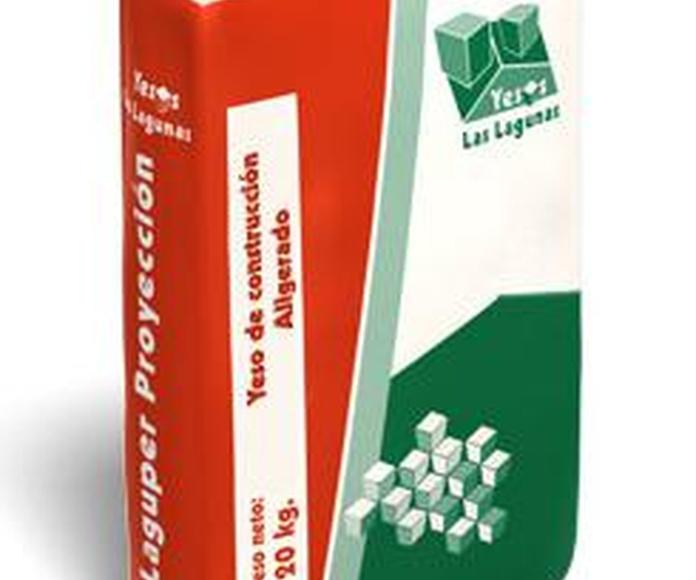 Laguper proyección ( perlita ): Catálogo de Materiales de Construcción J. B.