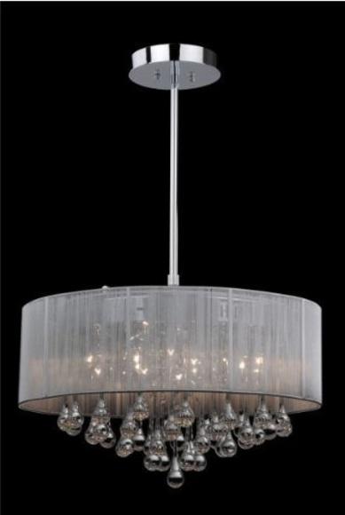 LAMPARA CON BOMBILLAS LED .