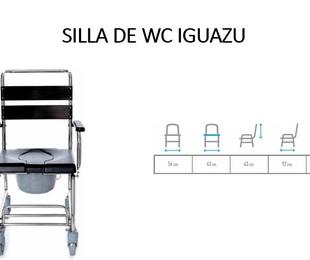 SILLA DE BAÑO IGUAZU