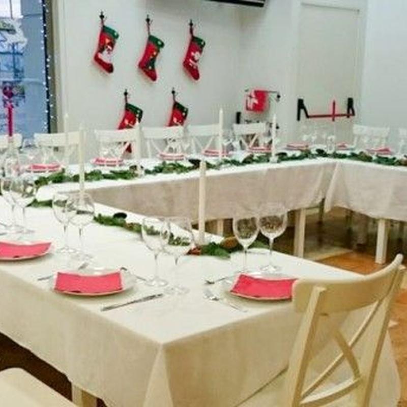 Celebraciones: Ofrecemos de Cafetería la Bernarda