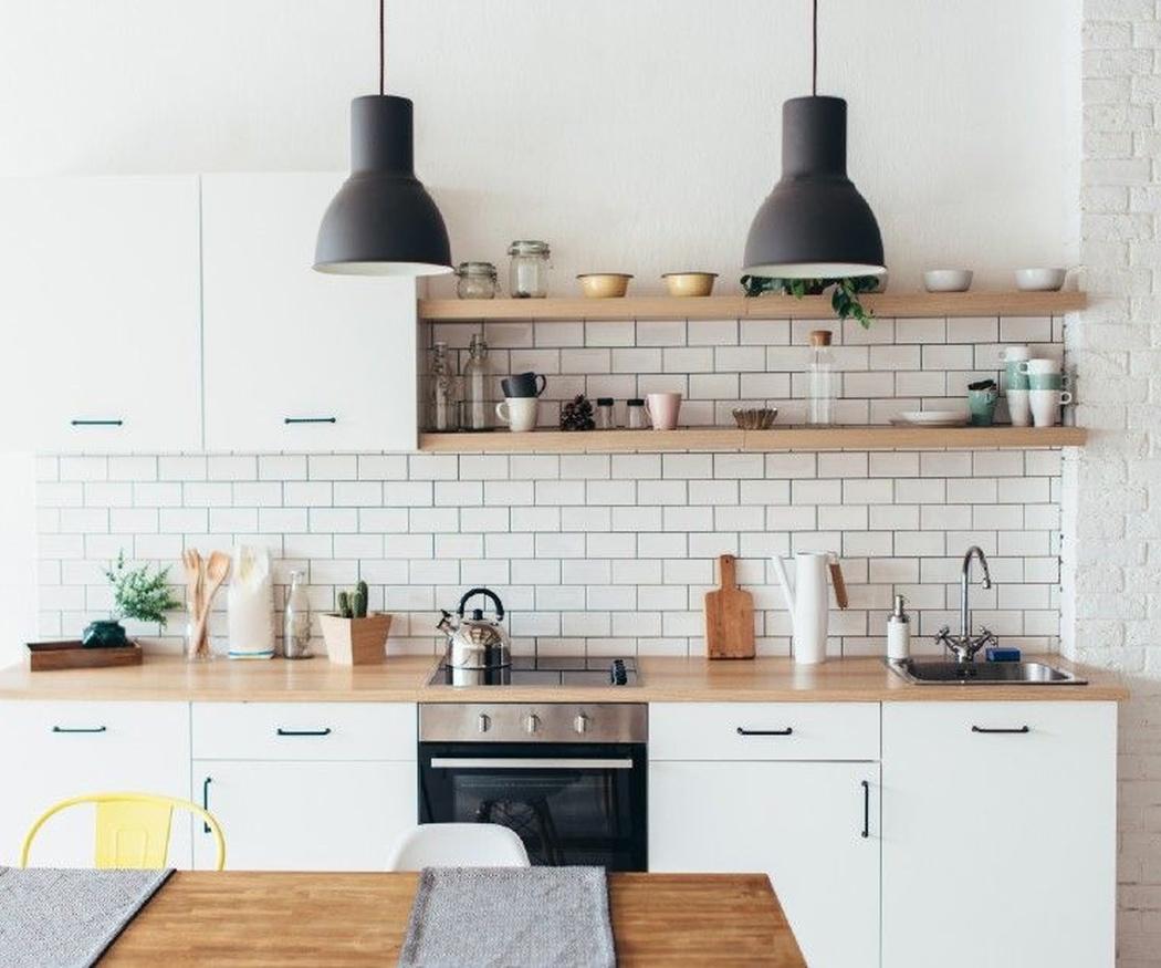 Cómo distribuir los muebles en una cocina pequeña