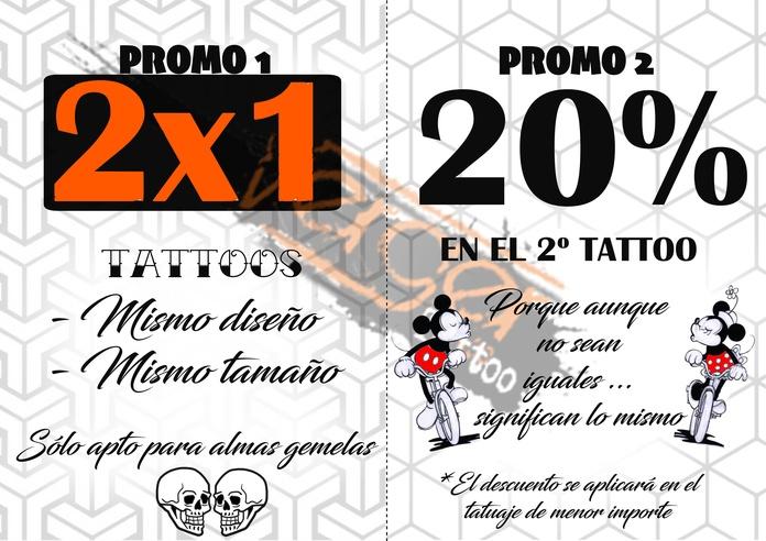 Promoción Sam Valentín 2019  Estudio de tatuajes en Santander