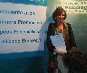 Primera promoción de Expertos Europeos en Psicoterapia . Día de la entrega del título.