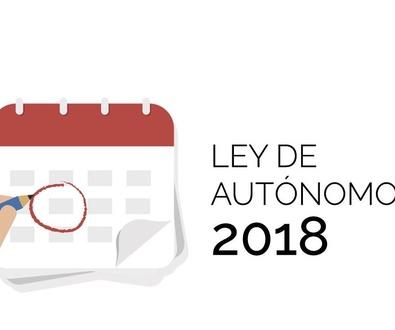 Ley 6/2017, de 24 de octubre, de Reformas Urgentes del Trabajo Autónomo