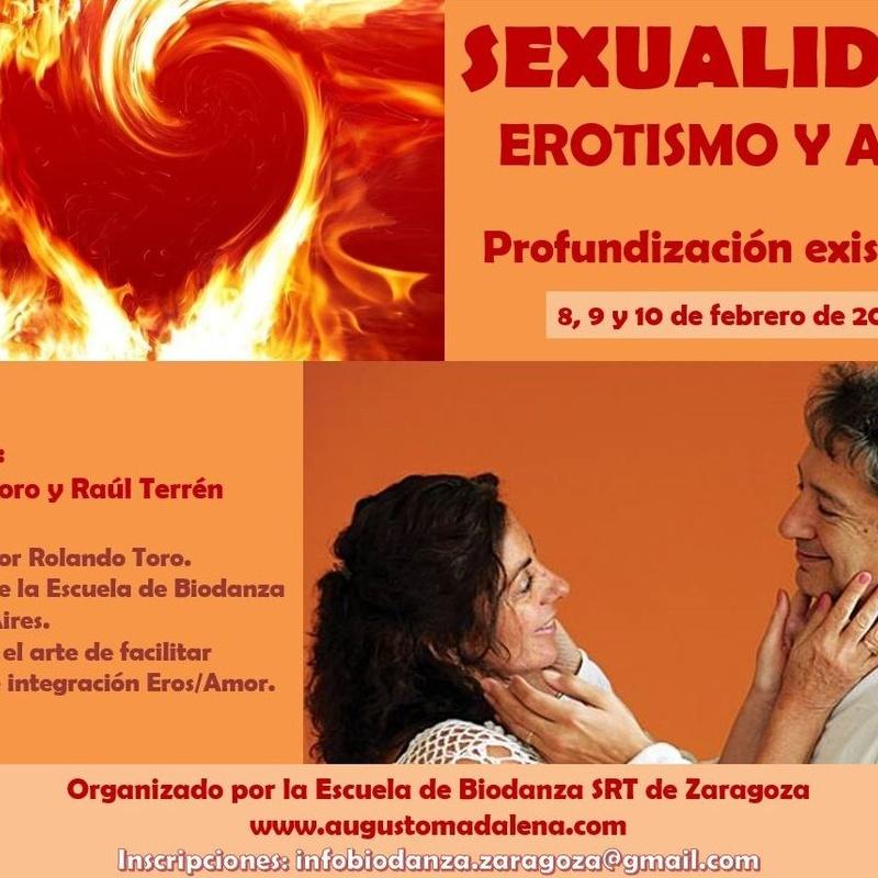 Sexualidad, erotismo y amor. Escuela de Biodanza SRT de Zaragoza