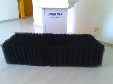 Separador de Gotas y Relleno para Torres de Refrigeración - Fabricados en POLIETILENO DE ALTA DENSIDAD