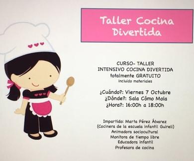 CURSO-TALLER COCINA DIVERTIDA