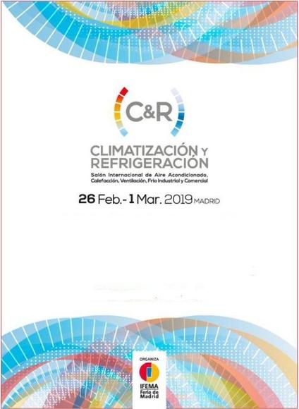 CLIMATIZACIÓN y REFRIGERACIÓN -C&R- 2019