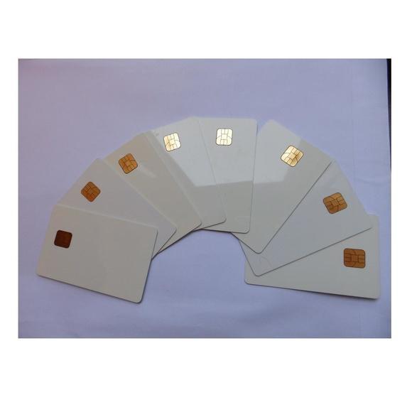 """Tarjetas de PVC """"Smartcards"""" con chip de contacto. Sin imprimir.: Productos de Solutar - Soluciones de tarjetas"""