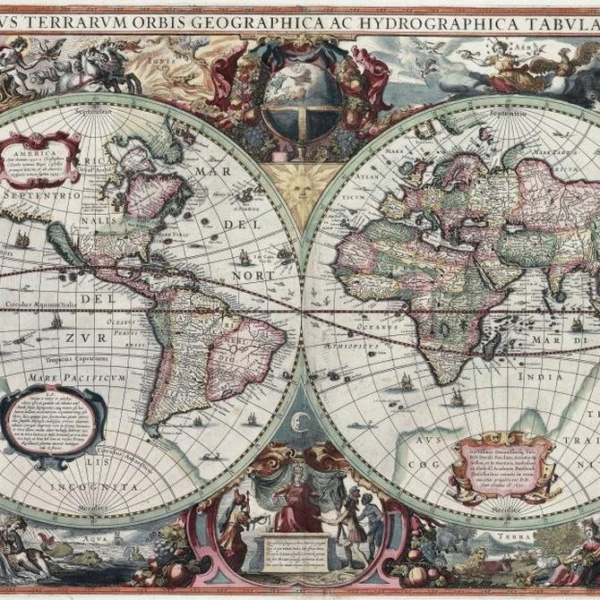 Un poco de historia de la cartografía