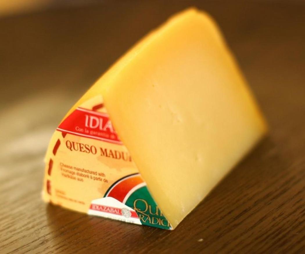 Idiazábal, queso e sabor intenso