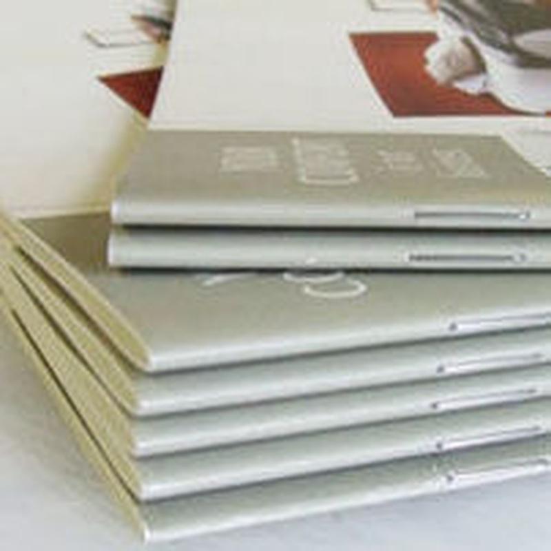 Encuadernación de Folletos y Revistas