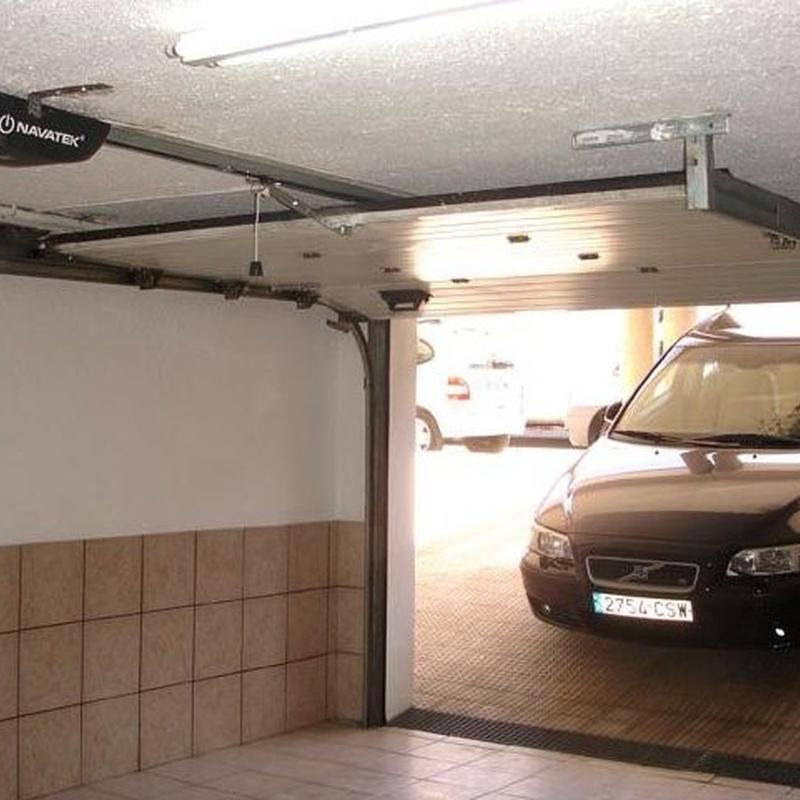 Motor puerta seccional