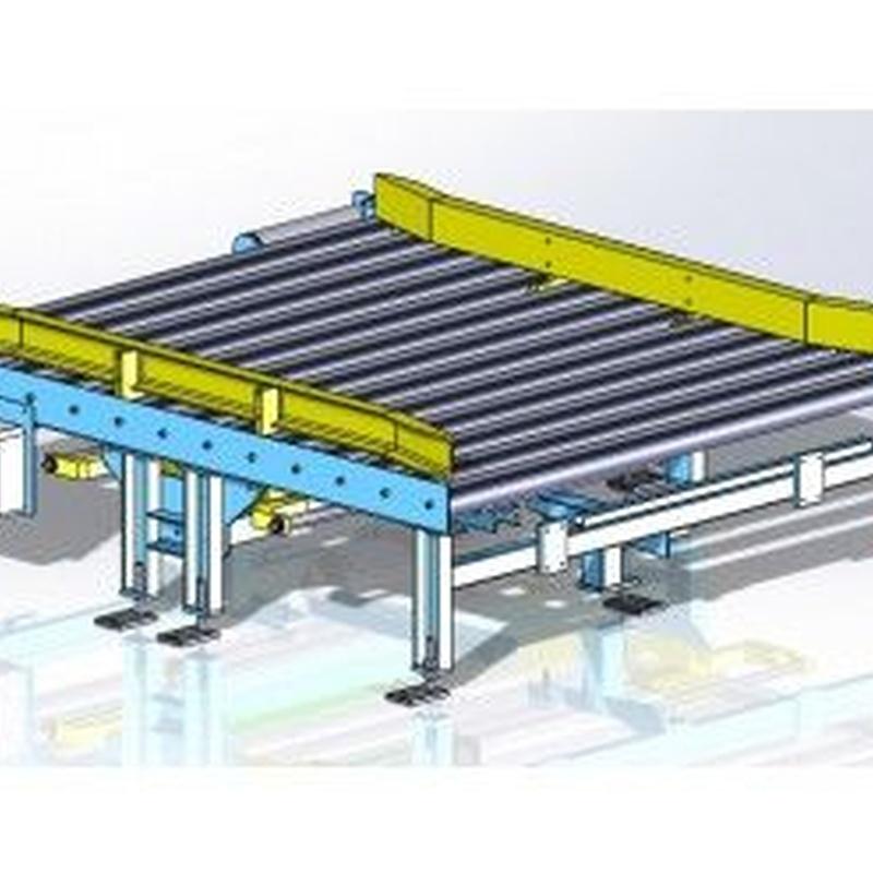Transportadores de rodillos: Productos de Sistemas de Embalaje Miguel D, S.L.