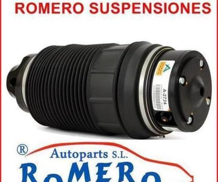 Balona trasera Mercedes serie E-CLS W211-W219: Suspensiones y vehículos de Romero Autoparts Zaragoza