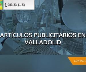 Artículos publicitarios en Madrid centro y Valladolid