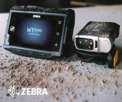 Impresionante Terminal Wearable Zebra WT6000 con Android