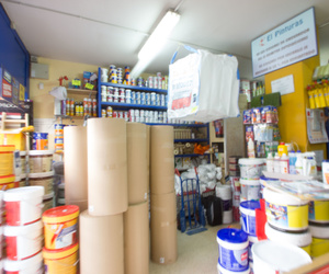 Tienda especializada en todo tipo de pinturas decorativas