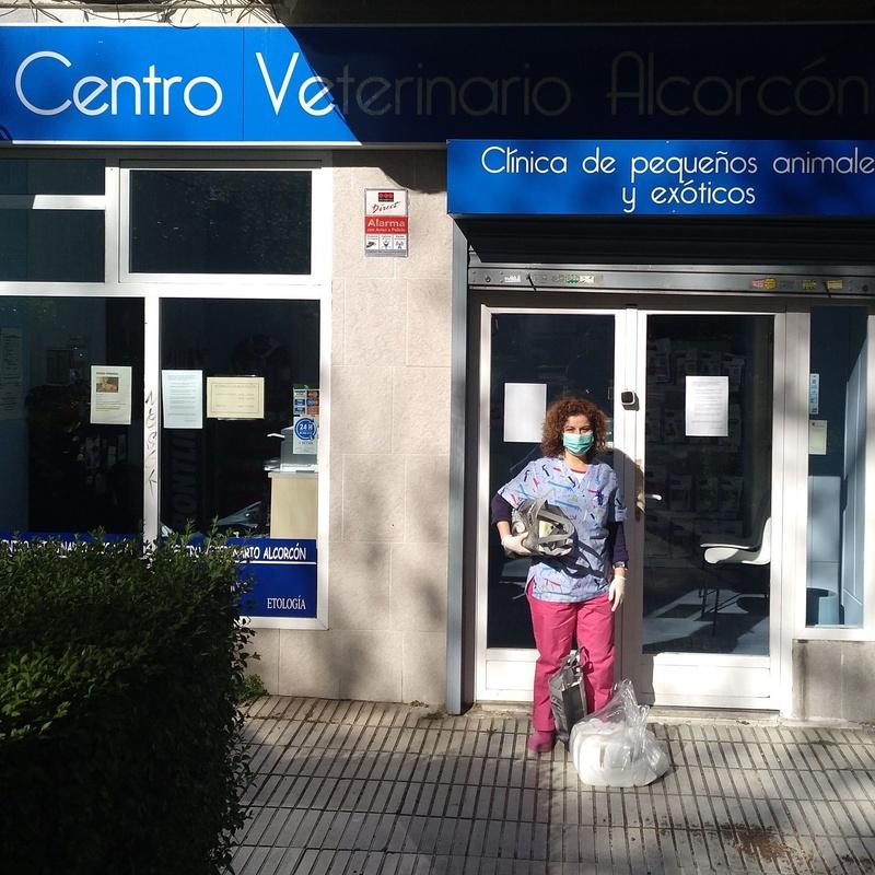 DONACIÓN MATERIAL A SANITARIOS: Servicios de Veterinario Alcorcón