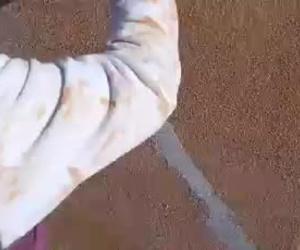 Reparaciones de grietas antes de su acabado en revestimiento