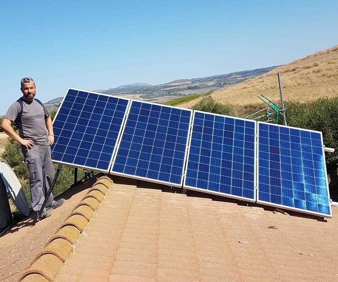 Instalaciones solares fotovoltáicas: Servicios de Gaia Solar