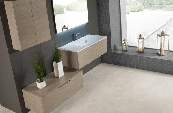 Mueble de baño Vidrebany colección Up&Down modelo Up