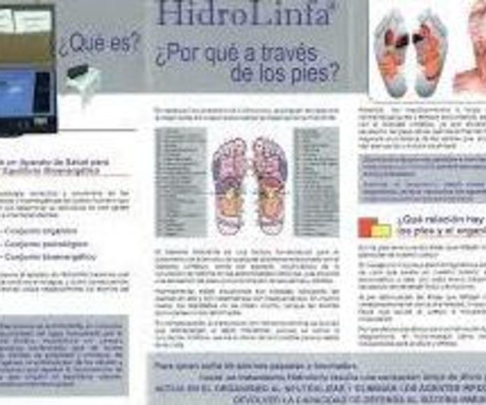 Hidrolinfa: desintoxica tu cuerpo en nuestro centro de masajes de hortaleza. fisioterapia, osteopatía y estética