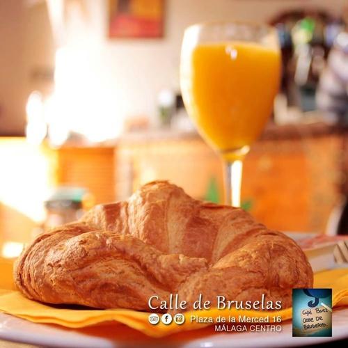 Empieza el día en Café Calle de Bruselas