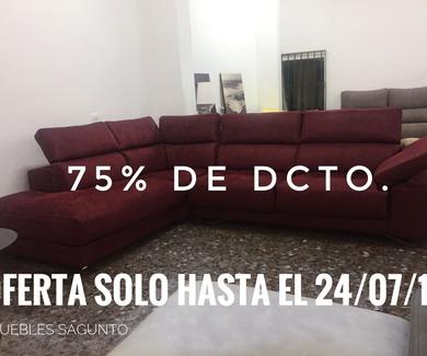 OFERTA ÚNICA: RINCONERA DISEÑO AL 75% DE DCTO. HASTA EL 24/07/17
