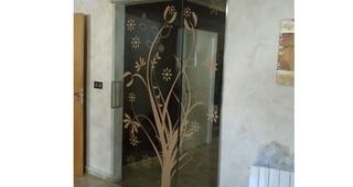 Puertas correderas decoradas