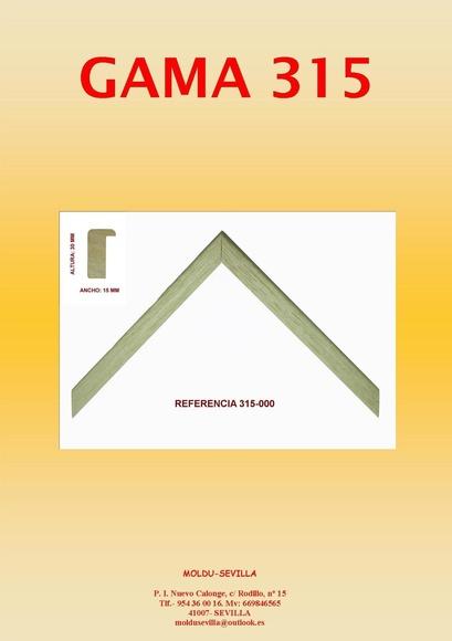 GAMA 315: Muestrario de Moldusevilla