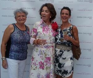 En Madrid presentación de Lift Up y conociendo nada menos que a Carmen Navarro