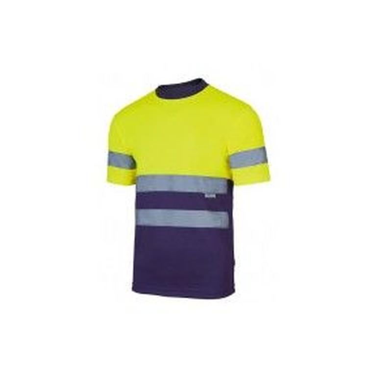 Serie 305506 / Camiseta técnica bicolor alta visibilidad: Nuestros productos  de ProlaborMadrid