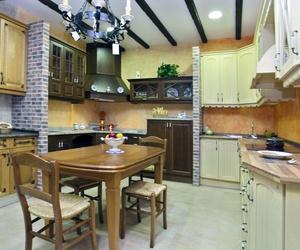 Cocinas de madera a medida en Toledo