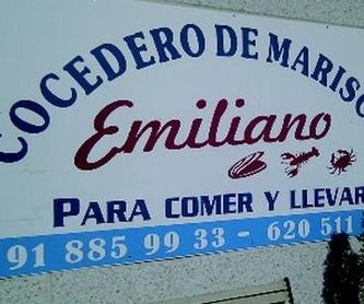 Marisco cocido: Nuestros productos de Cocedero de Mariscos Emiliano