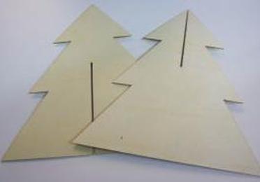 Cartón bigris troquelado