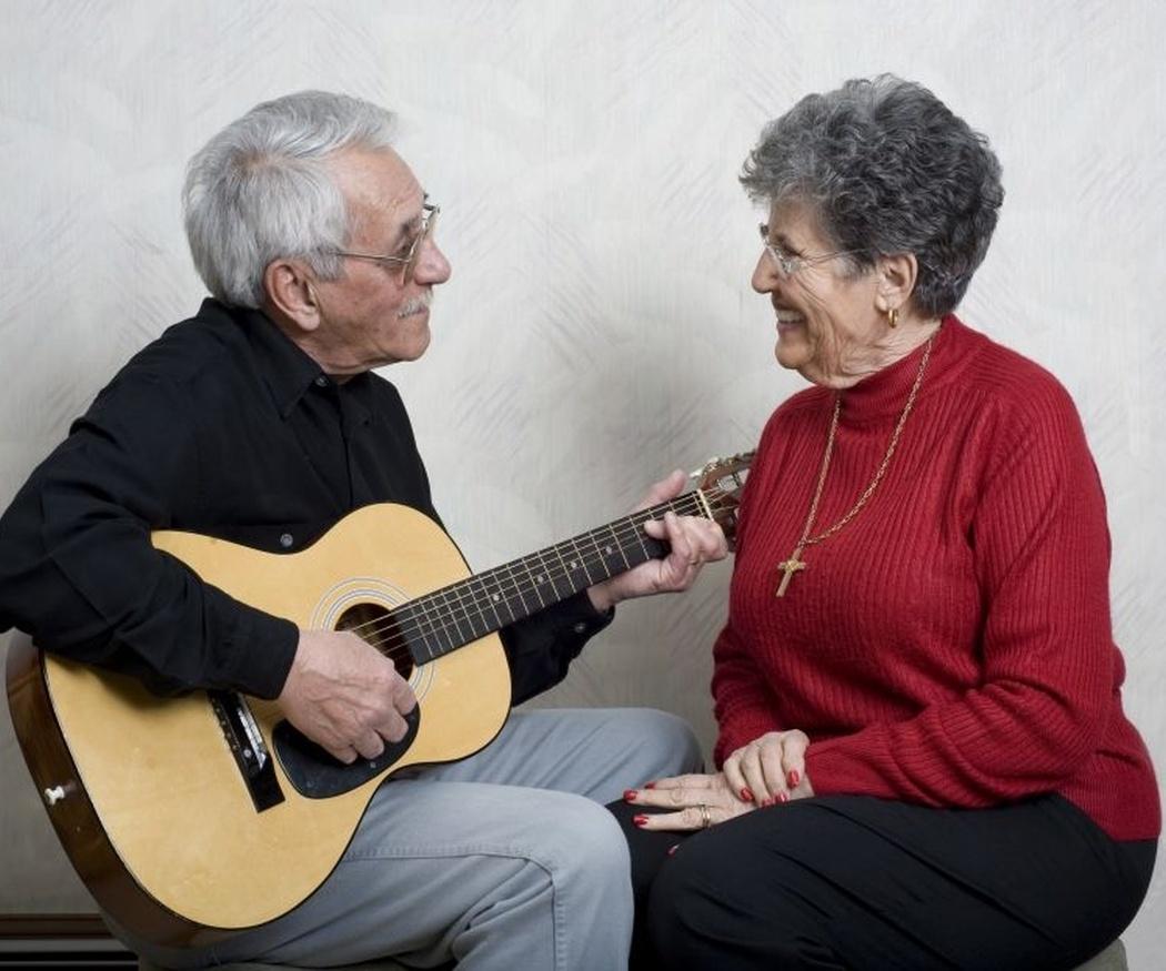 Las ventajas de la música en la tercera edad