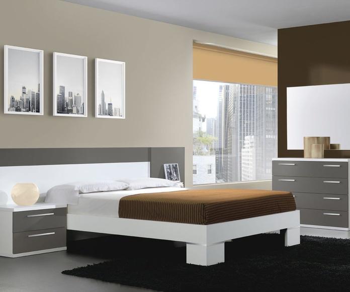 Dormitorios de matrimonio: Catalogo de muebles de Muebles Contrastes