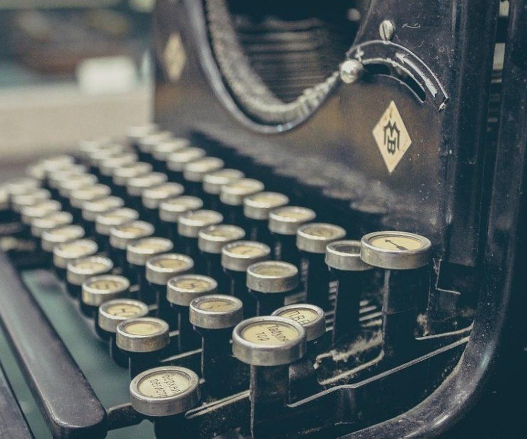 Las máquinas de escribir más antiguas del mundo